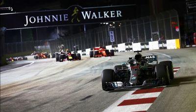 F1 2019, GP di Singapore: gli orari TV Sky e TV8 del Marina Bay