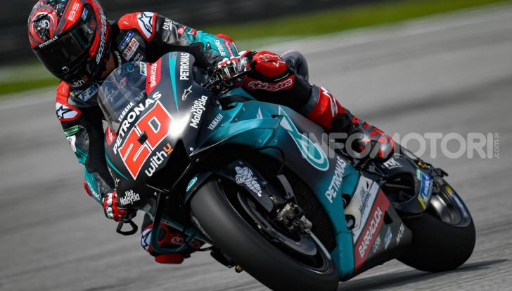 MotoGP 2019, GP della Malesia: le Yamaha dettano il passo nelle libere di Sepang con Quartararo davanti a Morbidelli - Foto 5 di 15