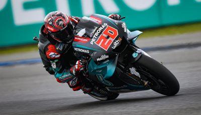 MotoGP 2019, GP di Thailandia: Quartararo batte Marquez in qualifica e firma il nuovo record di Buriram
