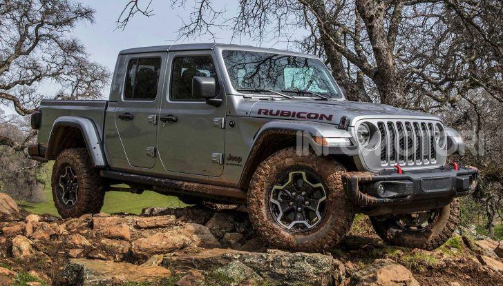 Jeep Gladiator arriva in Europa nel 2020 - Foto 6 di 8