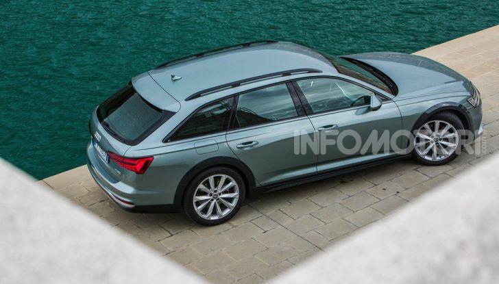 Nuova Audi A6 allroad Quattro MY2020: dimenticate i compromessi - Foto 40 di 45