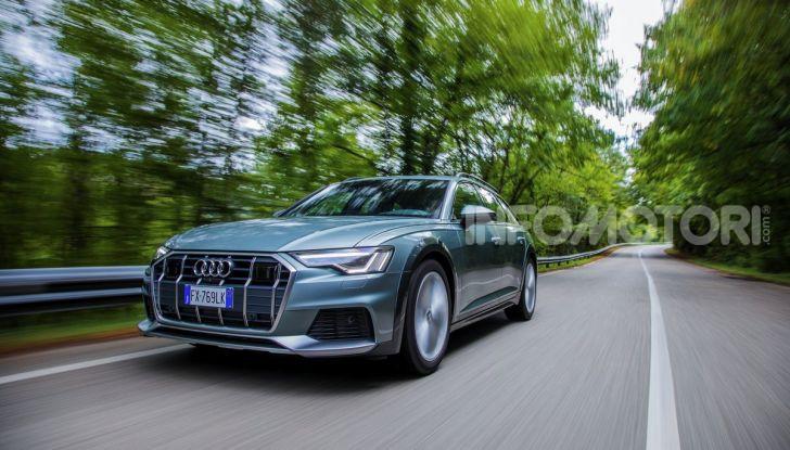 Nuova Audi A6 allroad Quattro MY2020: dimenticate i compromessi - Foto 25 di 45