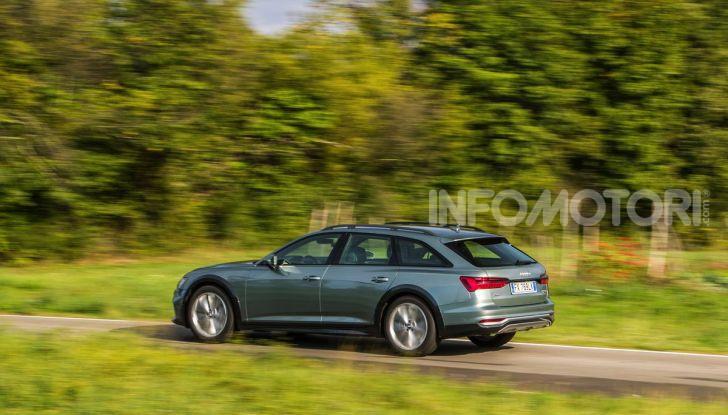 Nuova Audi A6 allroad Quattro MY2020: dimenticate i compromessi - Foto 17 di 45