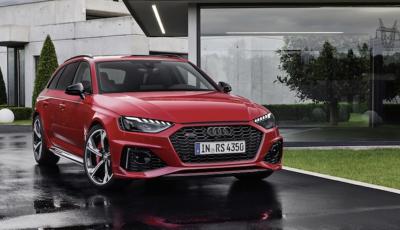 Nuova Audi RS4: comodità e carattere sportivo vanno di pari passo