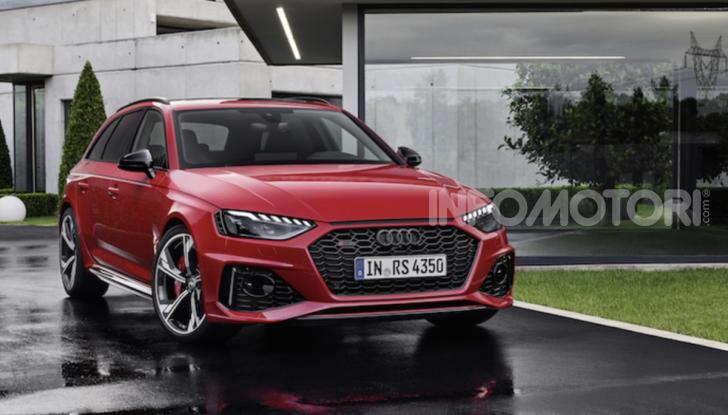 Nuova Audi RS4: comodità e carattere sportivo vanno di pari passo - Foto 2 di 8