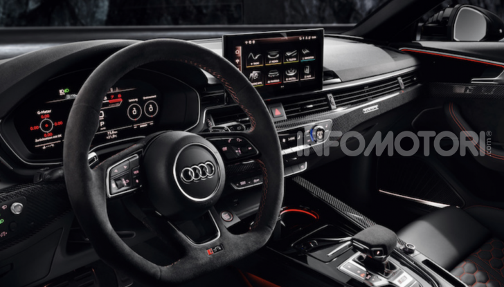 Nuova Audi RS4: comodità e carattere sportivo vanno di pari passo - Foto 3 di 8