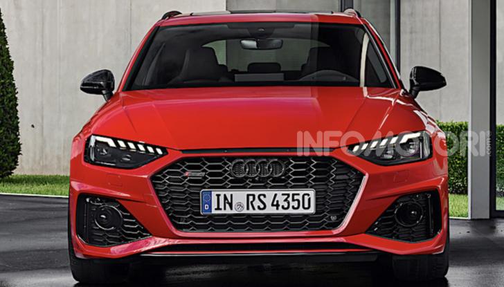 Nuova Audi RS4: comodità e carattere sportivo vanno di pari passo - Foto 5 di 8
