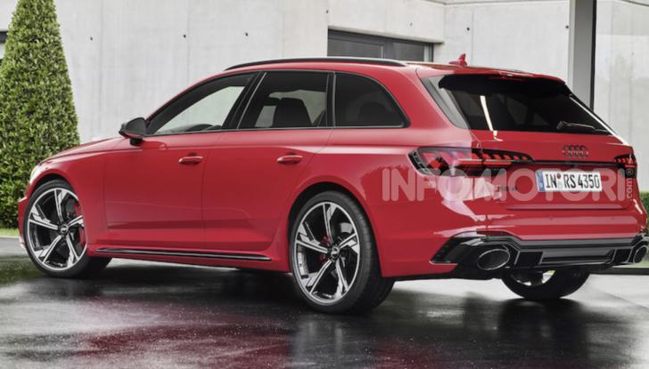 Nuova Audi RS4: comodità e carattere sportivo vanno di pari passo - Foto 8 di 8