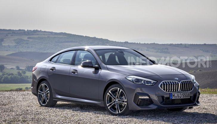 BMW Serie 2 Grand Coupé 2020, trazione anteriore e nuovo stile - Foto 10 di 49