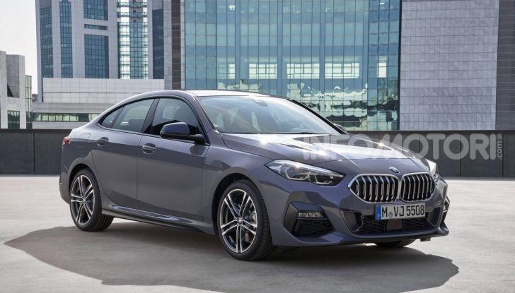 BMW Serie 2 Grand Coupé 2020, trazione anteriore e nuovo stile - Foto 13 di 49