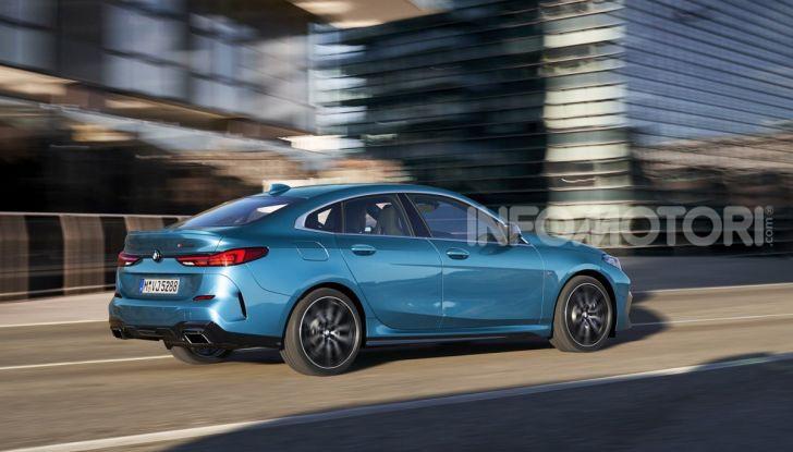 BMW Serie 2 Grand Coupé 2020, trazione anteriore e nuovo stile - Foto 14 di 49