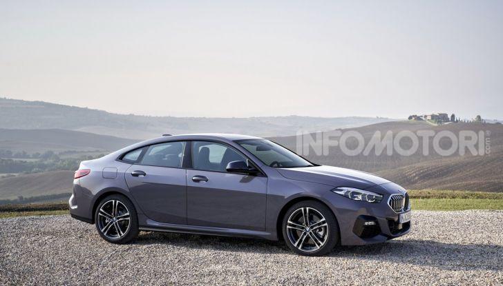 BMW Serie 2 Grand Coupé 2020, trazione anteriore e nuovo stile - Foto 16 di 49