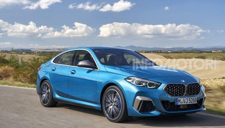 BMW Serie 2 Grand Coupé 2020, trazione anteriore e nuovo stile - Foto 18 di 49