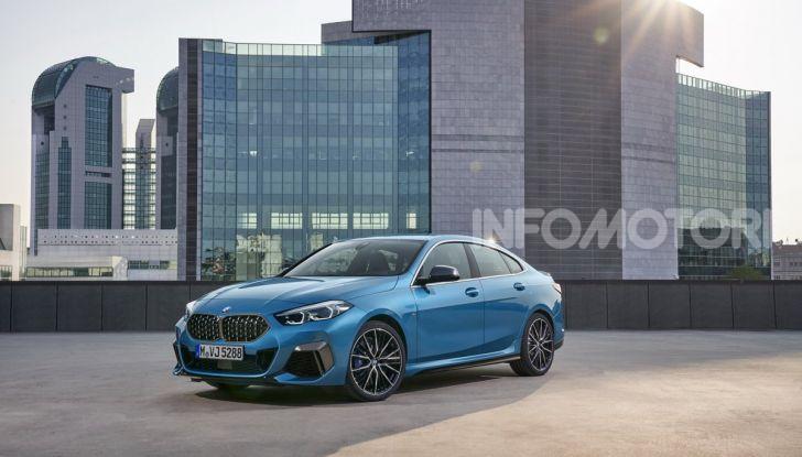 BMW Serie 2 Grand Coupé 2020, trazione anteriore e nuovo stile - Foto 19 di 49