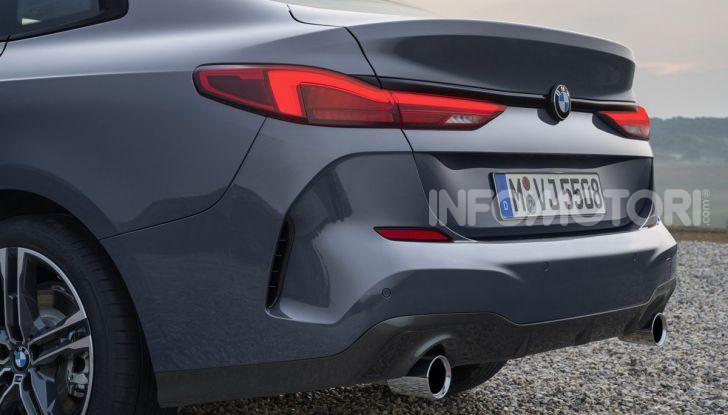 BMW Serie 2 Grand Coupé 2020, trazione anteriore e nuovo stile - Foto 20 di 49