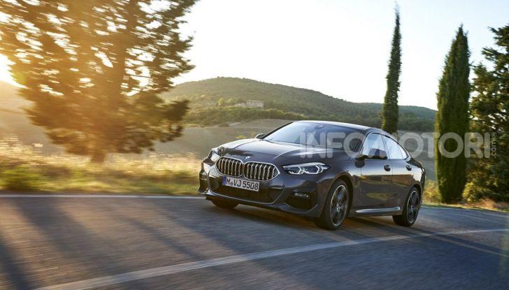 BMW Serie 2 Grand Coupé 2020, trazione anteriore e nuovo stile - Foto 22 di 49