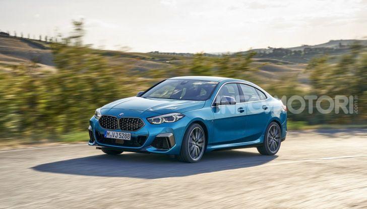 BMW Serie 2 Grand Coupé 2020, trazione anteriore e nuovo stile - Foto 23 di 49