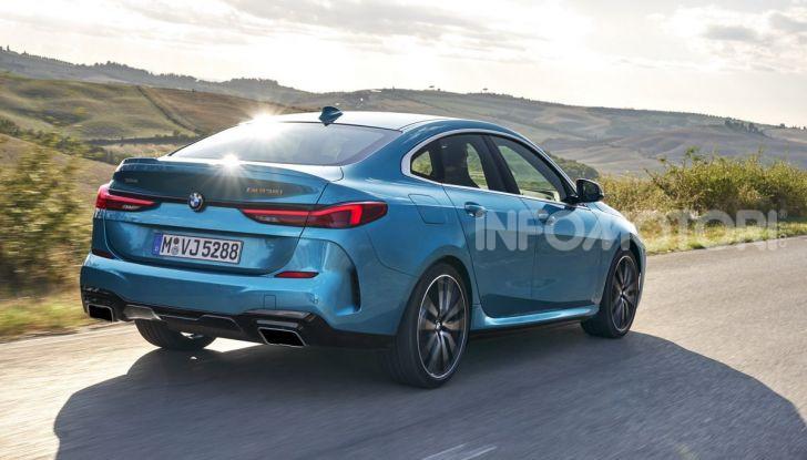 BMW Serie 2 Grand Coupé 2020, trazione anteriore e nuovo stile - Foto 24 di 49