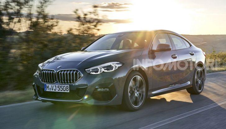 BMW Serie 2 Grand Coupé 2020, trazione anteriore e nuovo stile - Foto 26 di 49