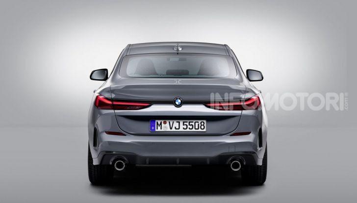 BMW Serie 2 Grand Coupé 2020, trazione anteriore e nuovo stile - Foto 27 di 49