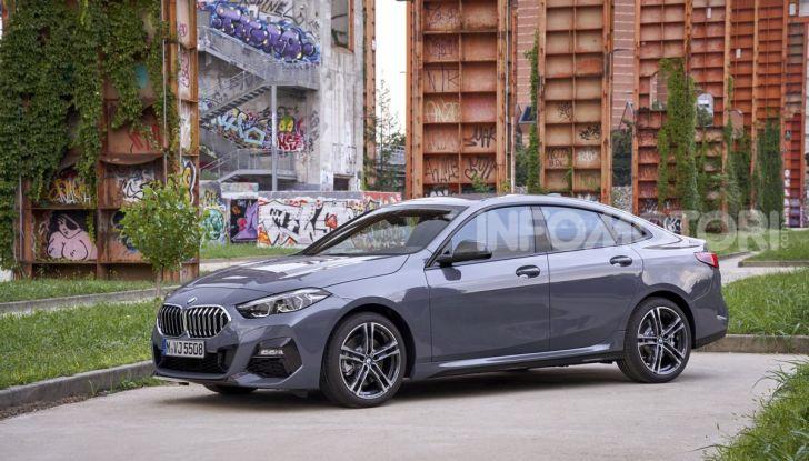 BMW Serie 2 Grand Coupé 2020, trazione anteriore e nuovo stile - Foto 29 di 49