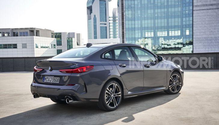 BMW Serie 2 Grand Coupé 2020, trazione anteriore e nuovo stile - Foto 3 di 49