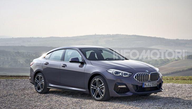 BMW Serie 2 Grand Coupé 2020, trazione anteriore e nuovo stile - Foto 31 di 49