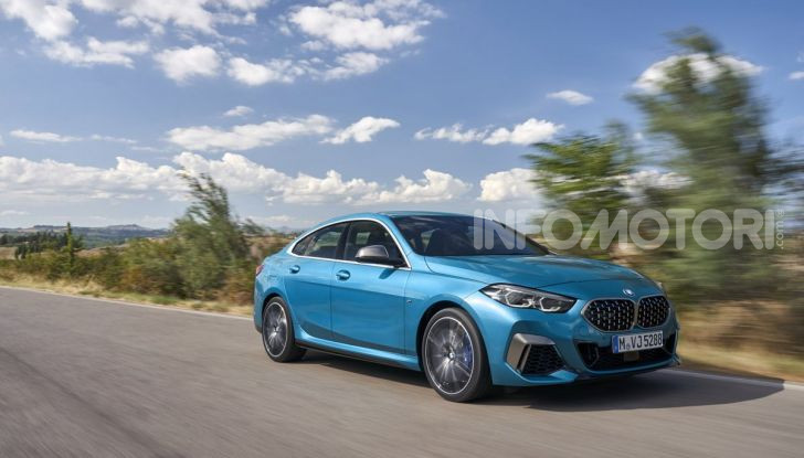 BMW Serie 2 Grand Coupé 2020, trazione anteriore e nuovo stile - Foto 33 di 49