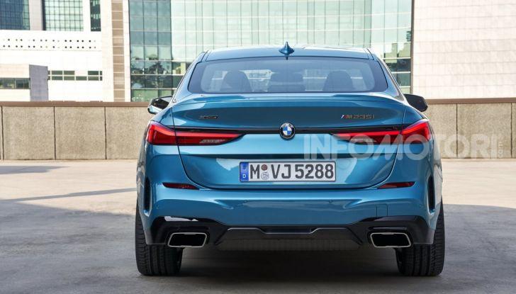 BMW Serie 2 Grand Coupé 2020, trazione anteriore e nuovo stile - Foto 35 di 49