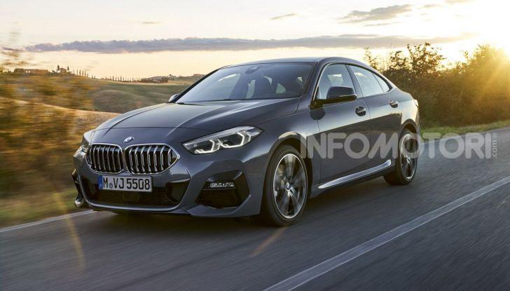 BMW Serie 2 Grand Coupé 2020, trazione anteriore e nuovo stile - Foto 36 di 49