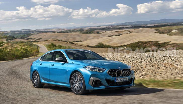 BMW Serie 2 Grand Coupé 2020, trazione anteriore e nuovo stile - Foto 39 di 49