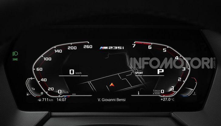 BMW Serie 2 Grand Coupé 2020, trazione anteriore e nuovo stile - Foto 41 di 49