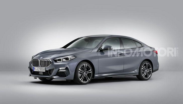 BMW Serie 2 Grand Coupé 2020, trazione anteriore e nuovo stile - Foto 44 di 49
