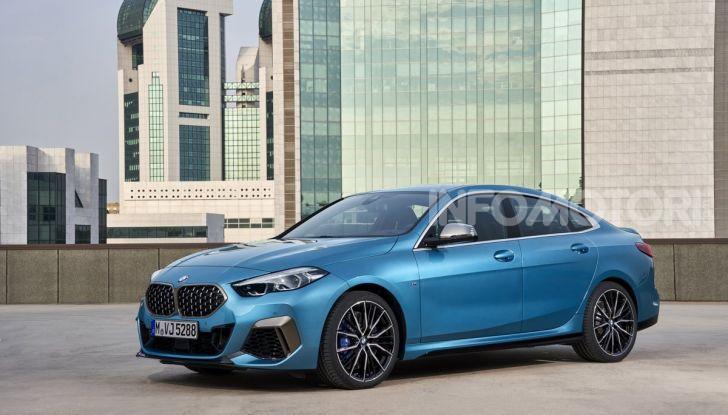 BMW Serie 2 Grand Coupé 2020, trazione anteriore e nuovo stile - Foto 46 di 49