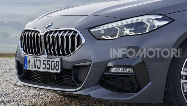 BMW Serie 2 Grand Coupé 2020, trazione anteriore e nuovo stile - Foto 47 di 49