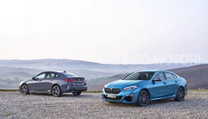 BMW Serie 2 Grand Coupé 2020, trazione anteriore e nuovo stile - Foto 48 di 49