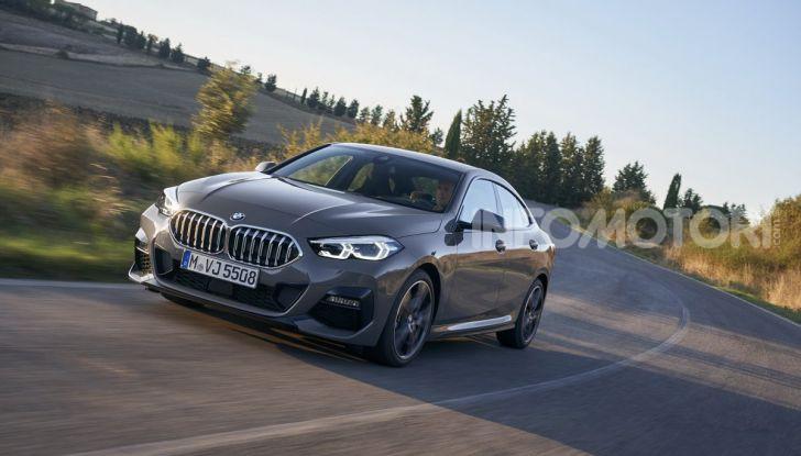 BMW Serie 2 Grand Coupé 2020, trazione anteriore e nuovo stile - Foto 5 di 49