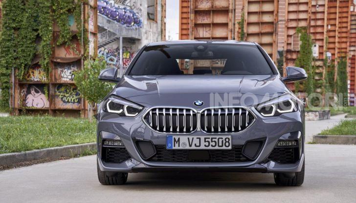 BMW Serie 2 Grand Coupé 2020, trazione anteriore e nuovo stile - Foto 6 di 49