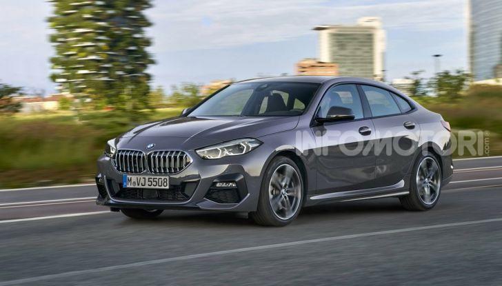 BMW Serie 2 Grand Coupé 2020, trazione anteriore e nuovo stile - Foto 9 di 49