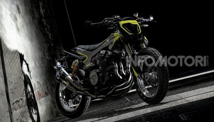 La Yamaha XJR 1300 Mya di Valentino Rossi