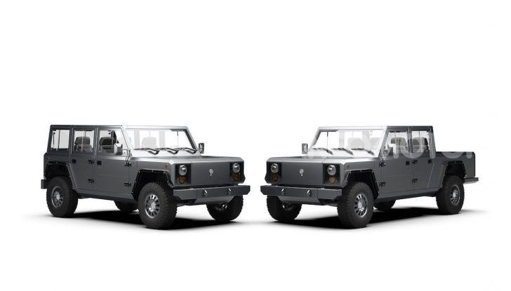 Bollinger B1 e B2: i nuovi truck elettrici - Foto 4 di 7
