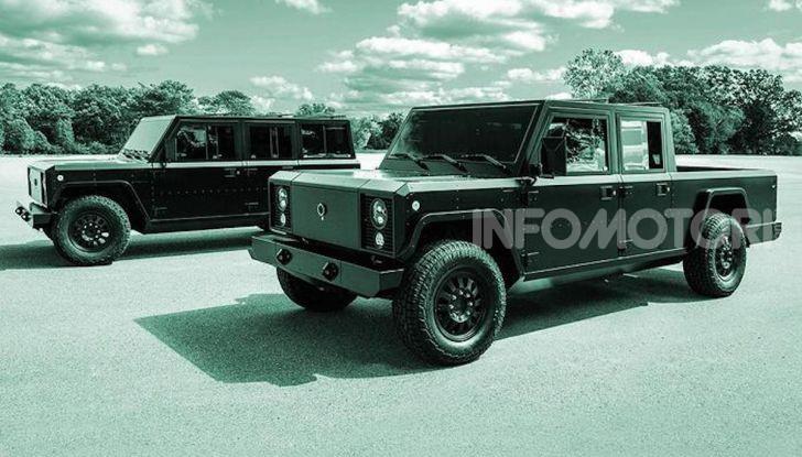 Bollinger B1 e B2: i nuovi truck elettrici - Foto 5 di 7