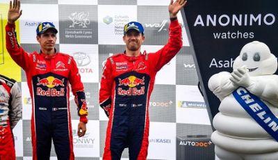WRC GRAN BRETAGNA: BRONZO PER CITROËN IN GALLES CON OGIER