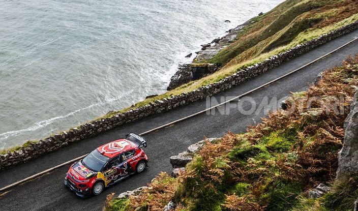 WRC GRAN BRETAGNA: BRONZO PER CITROËN IN GALLES CON OGIER - Foto 3 di 5
