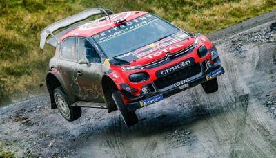 WRC GRAN BRETAGNA GIORNATA 2: CITROËN SUL PODIO CON OGIER-INGRASSIA