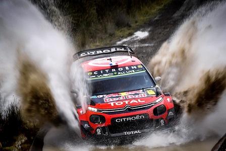 WRC GRAN BRETAGNA GIORNATA 2: CITROËN SUL PODIO CON OGIER-INGRASSIA - Foto 4 di 4