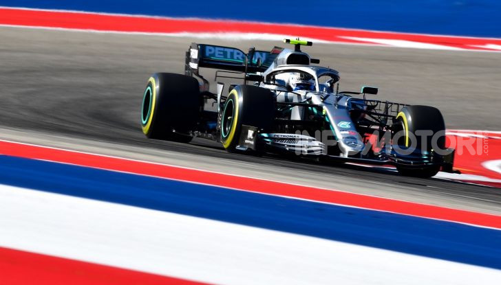 F1 2019, GP degli Stati Uniti: Hamilton si impone nelle libere di Austin davanti a Leclerc e Verstappen - Foto 3 di 9