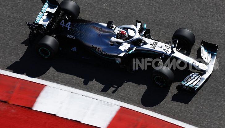 F1 2019, GP degli Stati Uniti: Hamilton si impone nelle libere di Austin davanti a Leclerc e Verstappen - Foto 2 di 9