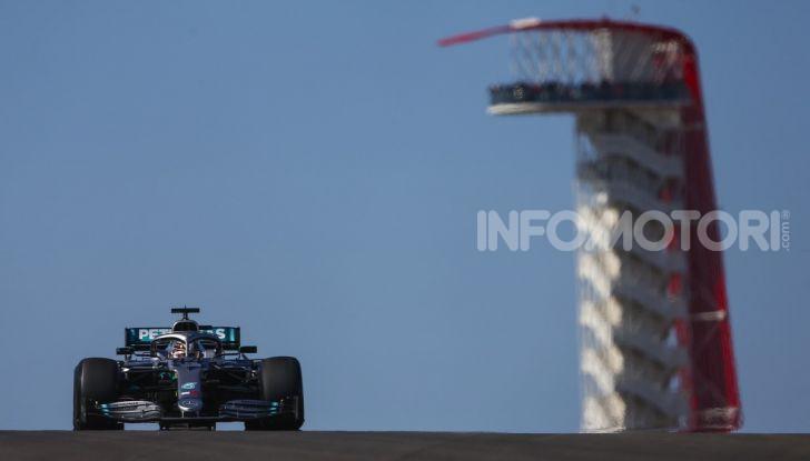 F1 2019, GP degli Stati Uniti: Hamilton si impone nelle libere di Austin davanti a Leclerc e Verstappen - Foto 4 di 9
