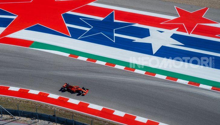 F1 2019, GP degli Stati Uniti: Hamilton si impone nelle libere di Austin davanti a Leclerc e Verstappen - Foto 6 di 9